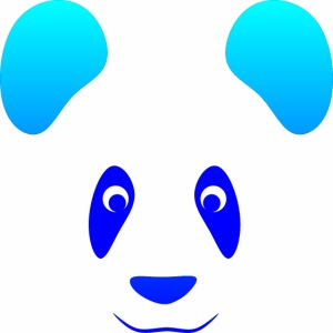 Happy Panda - Blue