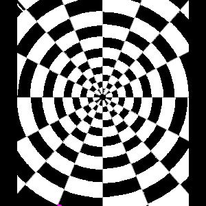 optische Täuschung Kreis