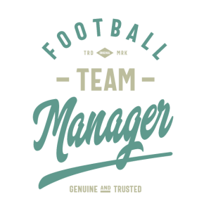 Manager der Fußballmannschaft