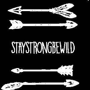Pfeile STAYSTRONGBEWILD