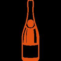 Champagner flasche 24062