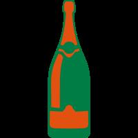 Champagner flasche 24063