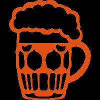 Bierglas Schaum Alkohol in 2406