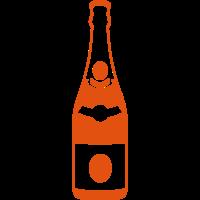 Champagner flasche 24067