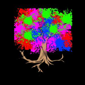 Ein bunter Baum