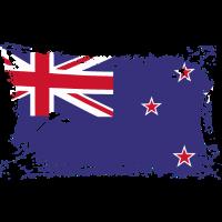 New Zealand Flag, Flagge Neuseeland