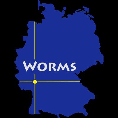 worms - Worms in Rheinland Pfalz - Worms,Weinsheim,Rhein,Pfiffligheim,Nibelungen,Neuhausen,Lutherstadt,Horchheim,Hochheim