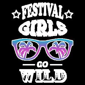 Festival Party Mädels
