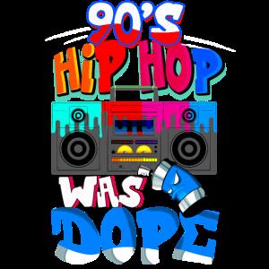 90's Hip Hop was Dope - 90'er Jahr Musik war einfa