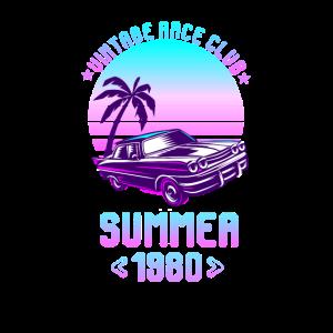 Sommer 1980er Vintage Race Club