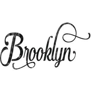 Brooklyn typography vintage