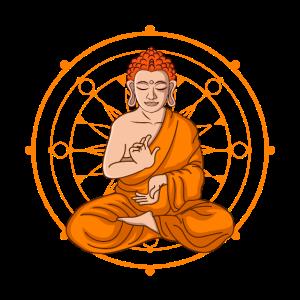 Cartoon Style -Buddha Cartoon Buddha