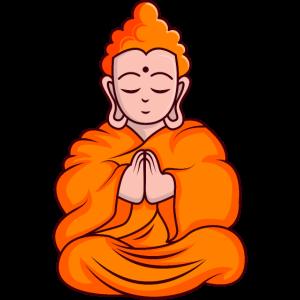 Cartoon Monk Cartoon Mönch