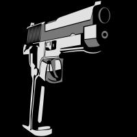 Waffen Pistole schiessen gewalt