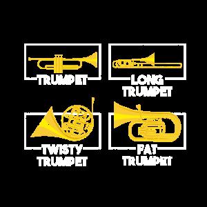 Trompete Blasinstrument
