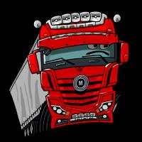 0807 M LKW rot Anhänger