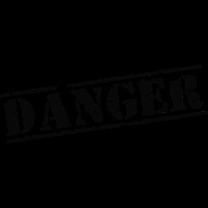 danger gefährlich gefahr achtung
