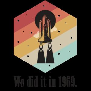 Wir haben es 1969 getan