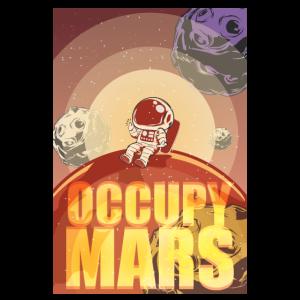 Occupy Mars Tshirt