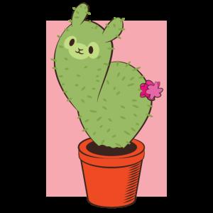 Kaktus Lama Tshirt Geschenk