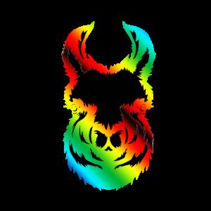 Karma Lama Bunt Regenbogen
