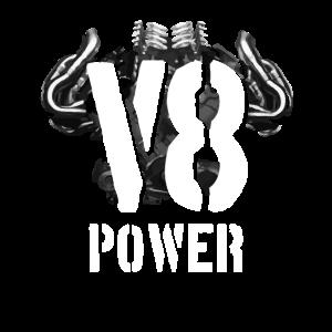 V8 Motor Engine Power