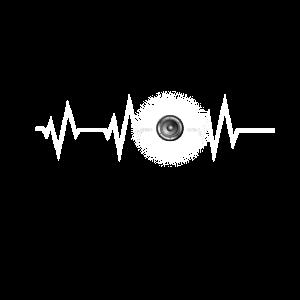 Heartbeat Bass Lautsprecher Sound BPM Frequenz