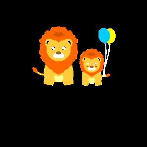 Löwen Mit Luftballons Luftballon Löwe Kid Geschenk