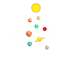 Grundschule Sonnensystem im Weltall Geschenk
