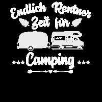 Endlich Rentner Zeit für Camping