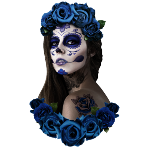 blaue catrina