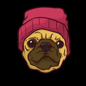 Hippy Pug Hipster Mobs
