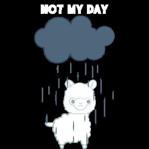 Lama - Lama T-Shirt - Nicht mein Tag