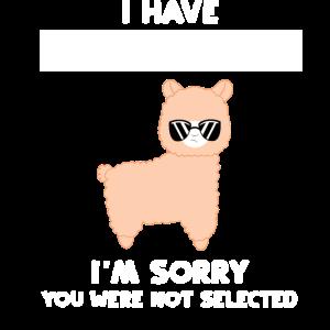 Lama - Lama T-Shirt - Sarkasmus - sarkastisch