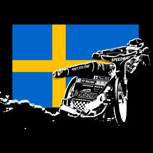 Speedway - Sweden Flag