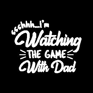 TV Gucken Match Spiel Sport Unterhaltung Sohn Papa