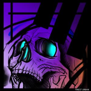 Finest Retro Skull