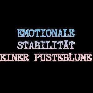 EMOTIONALE STABILITÄT EINER PUSTEBLUME GESCHENK