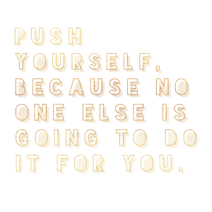 Push Yourself Geschenkidee