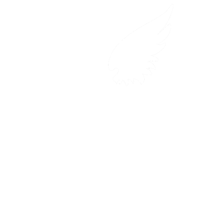 weiße Flügel eines Engels