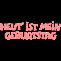Heut' ist mein Geburtstag (Pink)