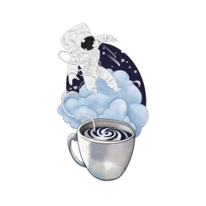 Astronaut Kaffee Design