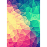 Abstract Triangles / Geometry Color - Phone Case
