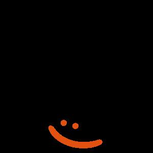 bitte lachen - lächeln -lustiger spruch