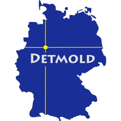 detmold - Detmold in Ostwetfalen-Lippe/NRW. - Werre,Teutoburger Wald,OWL,NRW,Knochenbach,Heidenbach,Eggegebirge,Detmold,Deppelt