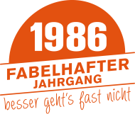 Jahrgang 1980 Geburtstagsshirt: Fabelhafter Jahrgang 1986 geboren