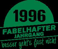 Jahrgang 1990 Geburtstagsshirt: Fabelhafter Jahrgang 1996 geboren
