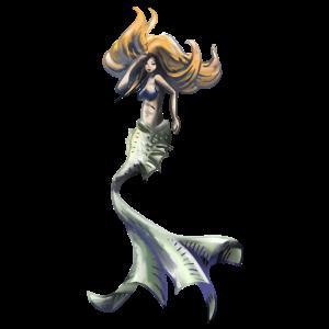 Meerjungfrau Kunst
