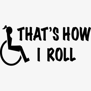 Zo rol ik in mijn rolstoel 2