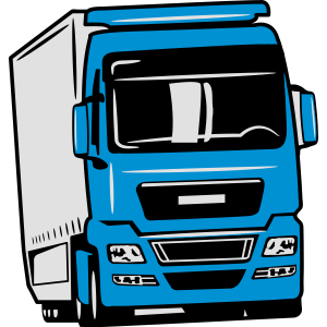 Truck LKW fünfachser